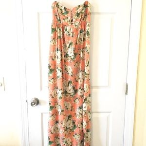 Forever 21 Floral Maxi Sleeveless Dress